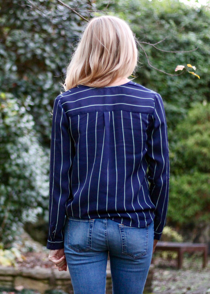 Friday Night Stripes Top