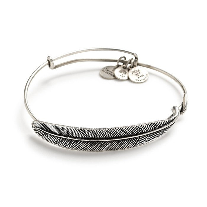Alex & Ani - Quill Feather Wrap Bracelet