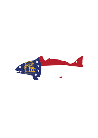 Georgia Brook Trout Sticker