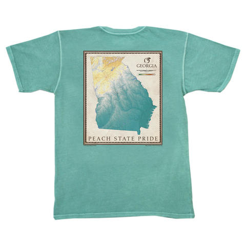 Wormsloe Short Sleeve Pocket Tee