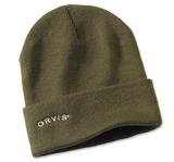 Orvis - Knit Cap - Olive and Navy