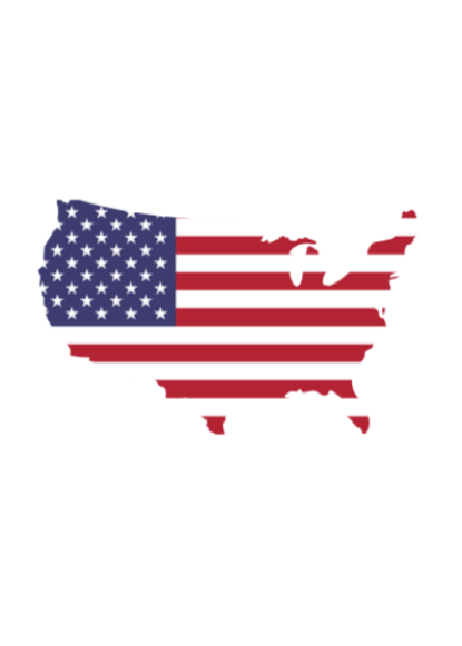 USA Outline Decal