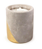 Urban Concrete Candle - Amber & Smoke - 12 oz