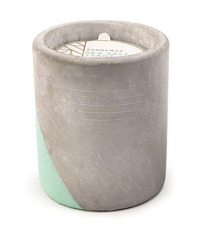 Urban Concrete Candle - Amber & Smoke - 8 oz