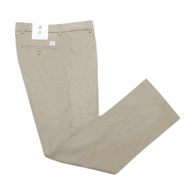 Southern Tide Channell Marker Pant - Trim/Tailored Fit - Sandstone Khaki