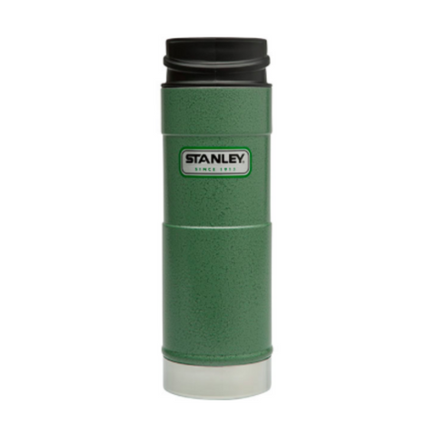 Classic Wide Mouth Flask - Hammertone Green - 8oz.