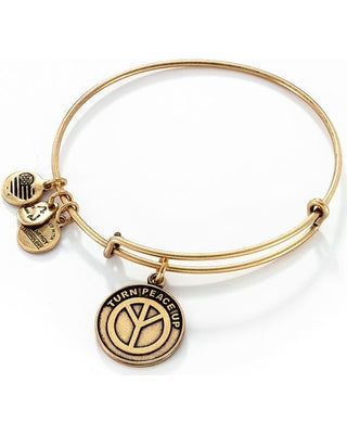 Alex & Ani - Turn Peace Up - Rafaelian Gold
