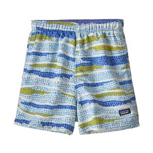 Kickee Pants - Solid SS One Piece - Pistachio with Shining Sea Trim