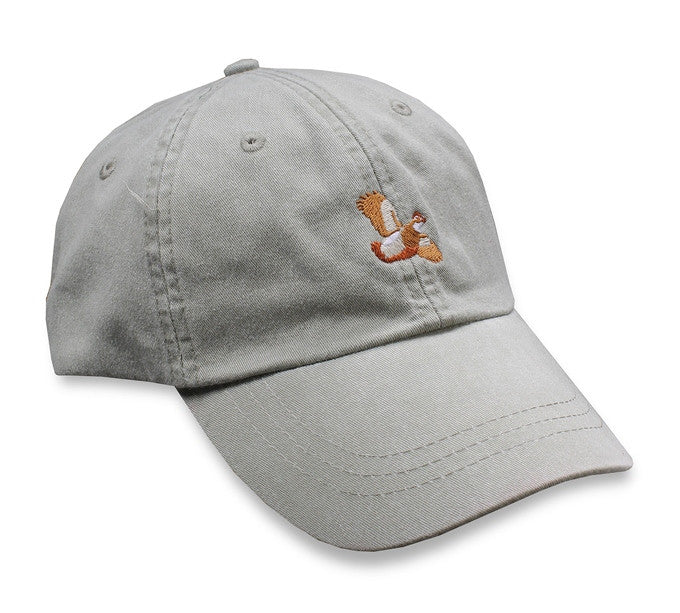 Bird Dog Bay - Quail Sporting Cap - Stone Gray