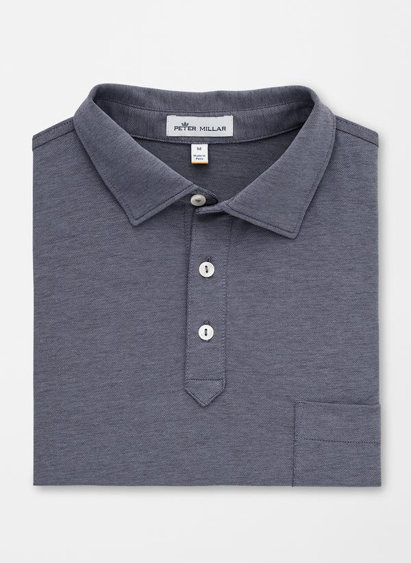 Cotton Blend Pique Knit Polo