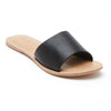 Cabana Flat - Black Leather