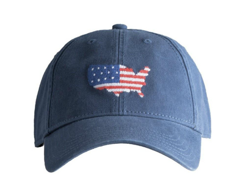 American Flag Mesh Back Trucker Hat