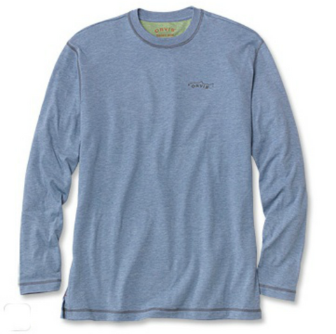 Patagonia - M's Graphic Tech Fish Tee - Railroad Blue