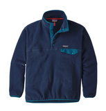 Patagonia Men's Synchilla® Snap-T® Fleece Pullover- Navy Blue