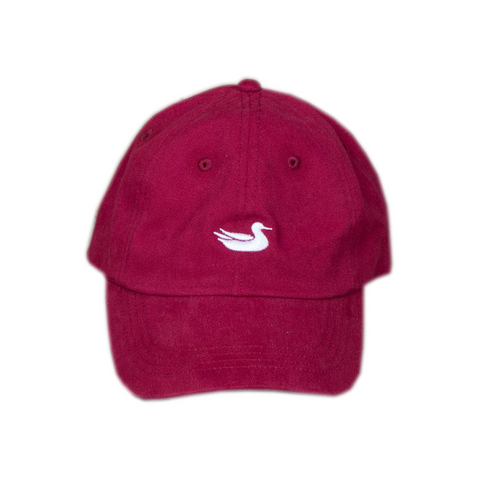 Aviate Hat - ATL - Red with Black Text