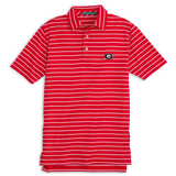 Gameday Driver Stripe Performance Polo - UGA Super G