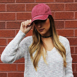 Perfect Weekend Cap - Red