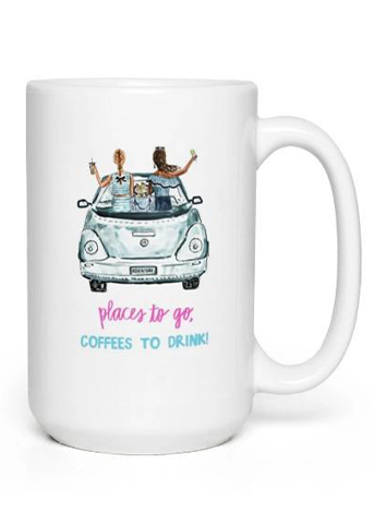 Places to Go, Coffees to Drink Mug