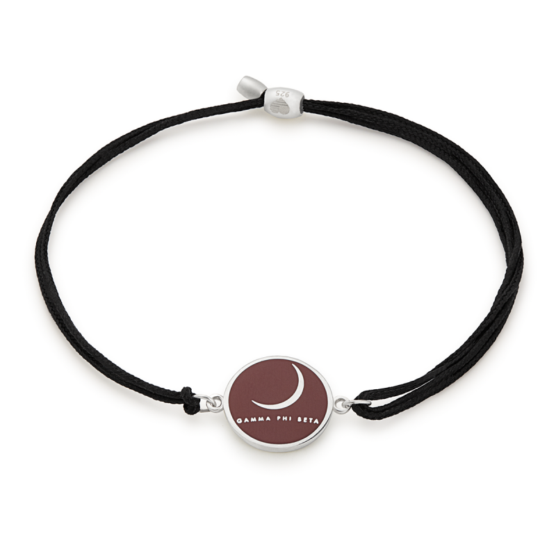 Alex & Ani - Kindred Cord - Gamma Phi Beta - Sterling Silver