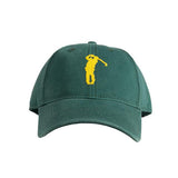 Harding Lane Needlepoint Hat - Golf Hat - Green