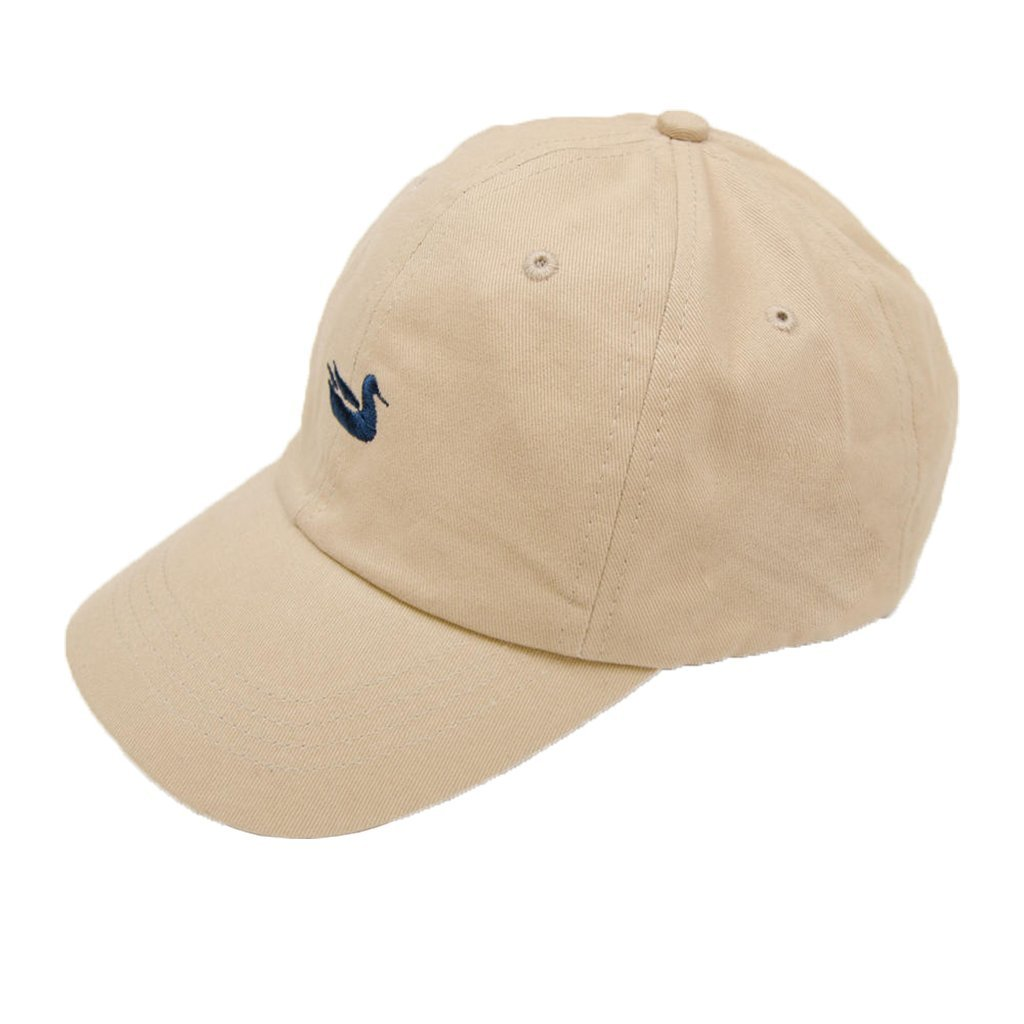 Southern Marsh - Signature Hat - Tan with Navy Duck