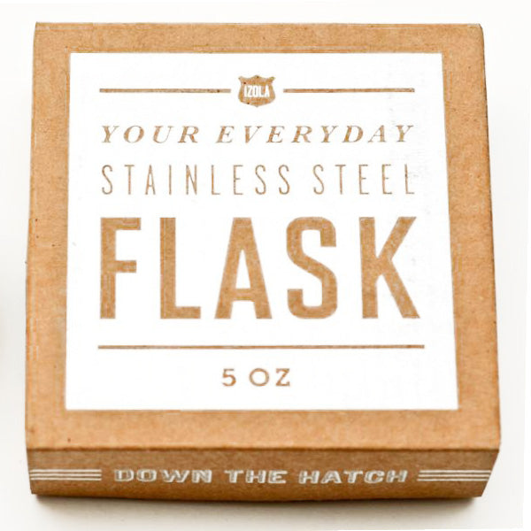 "Izola - ""Put Some Hair On Your Chest"" 5 oz. Flask"