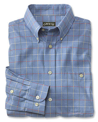 Orvis Country Twill Shirts - Blue