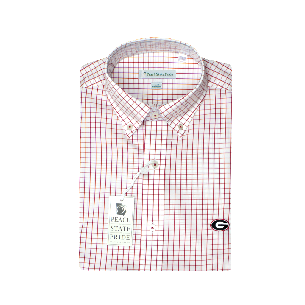 "UGA Super ""G"" Performance Button Down"