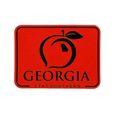 Georgia Patch Decal - Red