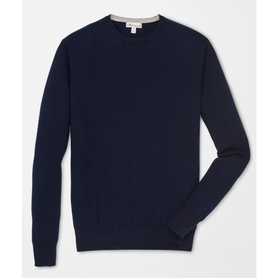 7635411c6a6 Crown Soft Crew Sweater - Navy – Empire South