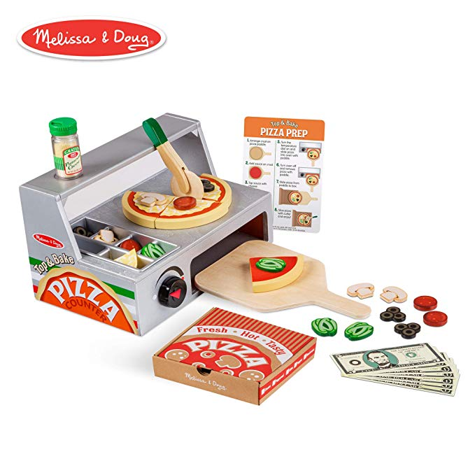 Top & Bake Pizza Counter