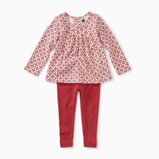 Pleated Top Baby Set