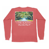 Wormsloe Long Sleeve Pocket Tee