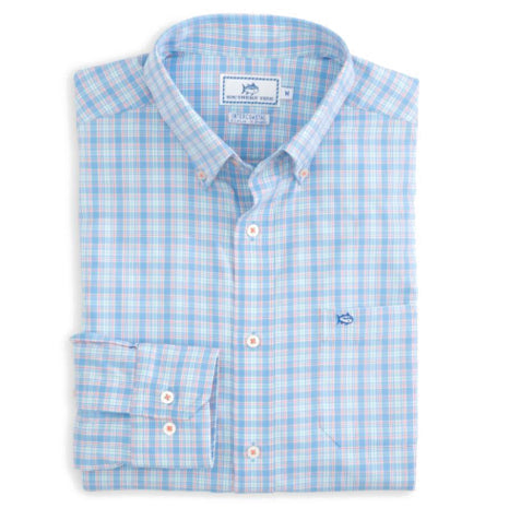 SS Intersection Button Down - Sky Blue