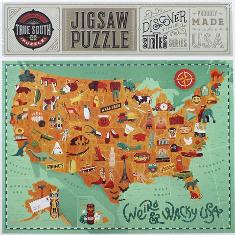 True South Puzzle Company-Favorite Foods Across America