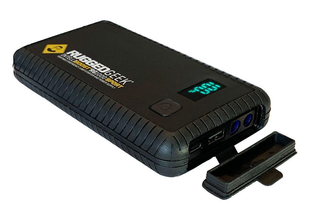 RG1000 SPORT 1000A Portable 12V Jump Starter/Booster Pack and Power Supply