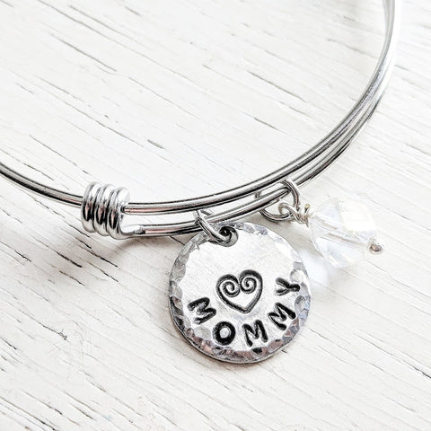 MOMMY Bangle Bracelet