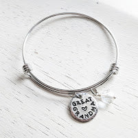 GREAT GRANDMA Bangle Bracelet