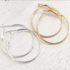 Perfect Every Day Hoops - Gold or Silver