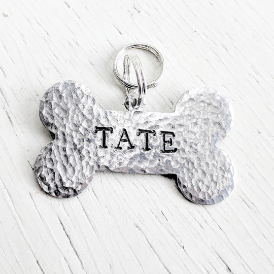 Large Dog Bone Tag