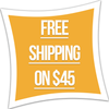 Free Shipping on $45
