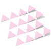 Baby Pink Triangles Vinyl Wall Decals