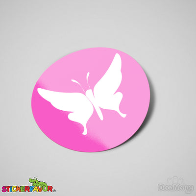 StickerFavor® Butterfly 001 Vinyl Decal Sticker Favors (Qty 103 - assorted sizes) | StickerFavor® | DecalVenue.com