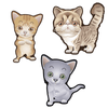 Cute Cats Set of 3 Decals [008]-Animals-Decal Venue