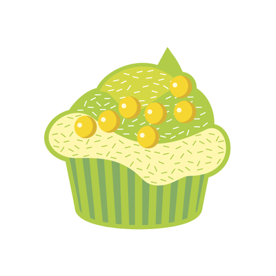 Cupcake Decal [002] | Food & Drink | DecalVenue.com