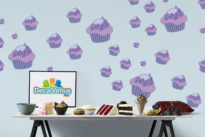 Cupcake Decal [003] | Food & Drink | DecalVenue.com