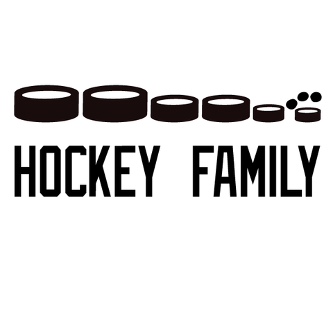 Personalized Hockey Stick Family Decal-Custom / Personalized-Decal Venue