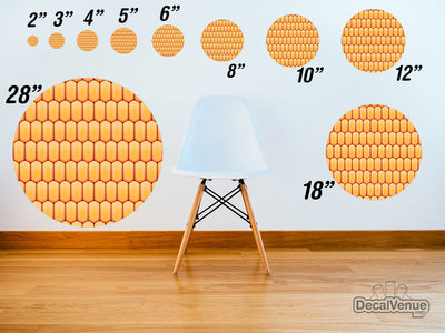 Corn Pattern Polka Dot Circles Reusable Wall Decals | Shapes & Patterns | DecalVenue.com