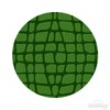 Green Crocodile Skin Pattern Polka Dot Circles Reusable Wall Decals | Shapes & Patterns | DecalVenue.com