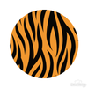 Tiger Stripes Pattern Polka Dot Circles Reusable Wall Decals